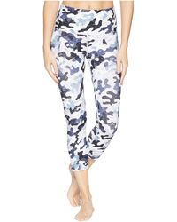 Lorna Jane Bootcamp Core 7/8 Tights (bootcamp Print) Women's Casual Pants - Blue