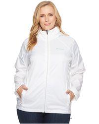 Columbia Plus Size Switchback Iii Jacket - White