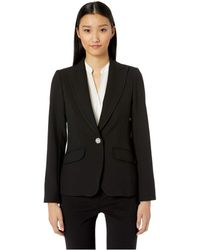 Trina Turk - Gala Jacket (black) Women's Coat - Lyst