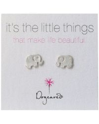 Dogeared - Little Things Elephant - Lyst