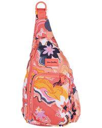 Vera Bradley Reactive Mini Sling Backpack - Pink