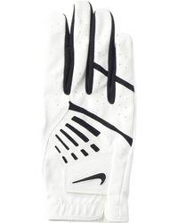 Nike Dura Feel Ix Right Hand Golf Gloves - White