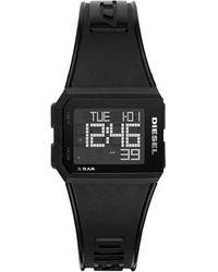 DIESEL Chopped Digital Watch - Black