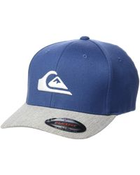 Quiksilver Mountain Wave New Era(r) Stretch Fit Hat - Blue