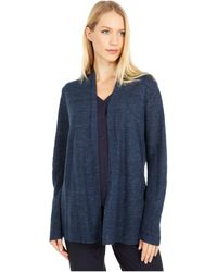 Eileen Fisher Straight Cardigan - Blue