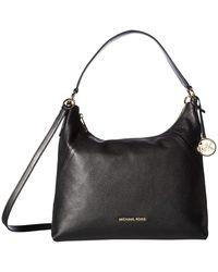 Michael Kors - Michael Aria Pebble Leather Shoulder Bag - Lyst