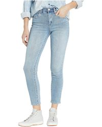 Blank NYC The Rivington High-rise Tapered Jeans In Ever After - Purple