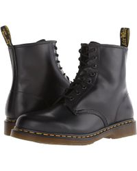 Dr. Martens - 1460 (white Smooth) Lace-up Boots - Lyst