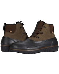 Bogs Casual Lace Leather - Brown