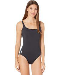 Polo Ralph Lauren Martinique Tank One-piece Swimsuits One Piece - Black