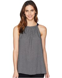 Ellen Tracy - Halter Top W/ Neck Tie - Lyst
