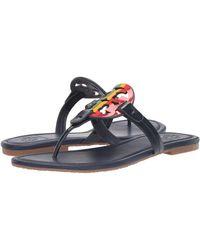 Tory Burch - Miller Rainbow Flat Sandals - Lyst