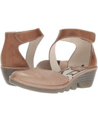 2acd7894dd7 Fly London - Pats801fly (luna camel Cool rug) Women s Shoes - Lyst