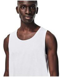 Lacoste 3-pack Sleeveless Slim Essential T-shirt Clothing - White