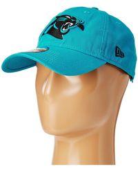 e3c195c7fc5 KTZ - Carolina Panthers 9twenty Core (blue) Baseball Caps - Lyst
