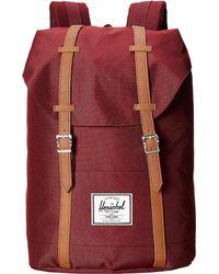 Herschel Supply Co. - Retreat (woodland Camo) Backpack Bags - Lyst