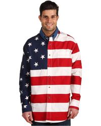 c15b84b71d Lyst - Denim   Supply Ralph Lauren Flag Chambray Western Shirt in ...