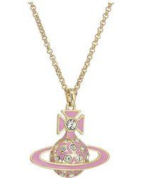 Vivienne Westwood - Brianna Large Pendant Necklace - Lyst