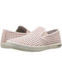 Seavees - Baja Slip-on Portal (silver) Women's Slip On Shoes - Lyst