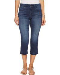NYDJ - Petite Capris W/ Released Hem In Lark (lark) Women's Jeans - Lyst