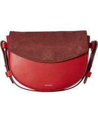 Skagen Lobelle Saddle Clutch - Red