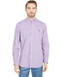 Polo Ralph Lauren - Classic Fit Long Sleeve Poplin Shirt - Lyst