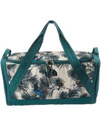 The North Face - Homestead Snackle Box (peyote Beige Birding Print/jasper Green) Duffel Bags - Lyst
