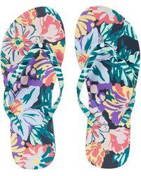 Vera Bradley Beach Flip-flops - Blue