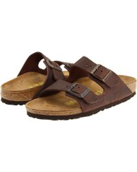 Birkenstock - Arizona - Oiled Leather (unisex) - Lyst