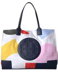 Tory Burch - Ella Printed Tote (inside The Box) Tote Handbags - Lyst