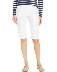 XCVI Wearables Tatem Bermuda Shorts - White