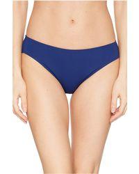 Lauren by Ralph Lauren Beach Club Solids Solid Hipster Bottoms - Blue