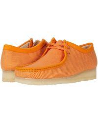 Clarks Wallabee Moccasin - Orange