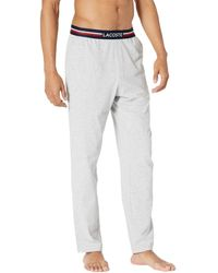 Lacoste Semi Fancy Waistband Pajama Pants Pajama - Gray
