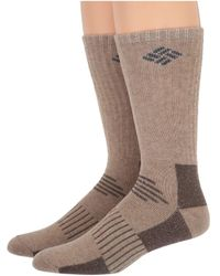 Columbia - Wool Blend Boot Crew 2-pack - Lyst