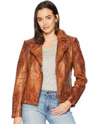 Scully - Rabia Ladies Leather Jacket (tan) Women's Coat - Lyst
