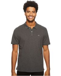 Vineyard Vines - Stretch Pique Heather Polo (gray Heather) Men's Clothing - Lyst