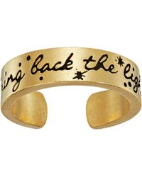 ALEX AND ANI - Wrinkle In Time - Bring Back The Light Adjustable Ring (14kt Gold Plated) Ring - Lyst