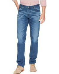 AG Jeans - Graduate Tailored Leg Jeans In 10 Years Paperback - Lyst