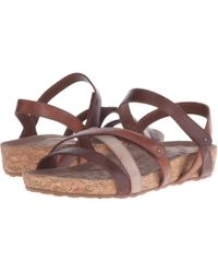 d03d83219ecab Walking Cradles - Pool (metallic Multi cork Wrap) Women s Sandals - Lyst
