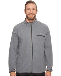 Columbia - Mountain Crest Full Zip - Extended (black/shark) Men's Clothing - Lyst