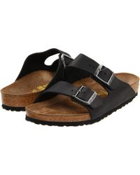 Birkenstock - Arizona - Oiled Leather (unisex) (tobacco Oiled Leather) Sandals - Lyst