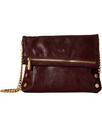 7564daab14baa7 Hammitt - Vip (pewter/gold/red Zip) Cross Body Handbags - Lyst