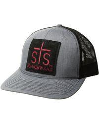 STS Ranchwear Patch Ball Cap - Gray