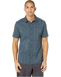 Arc'teryx Riel Shirt Short Sleeve Clothing - Blue