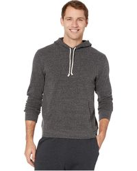 Threads For Thought Baseline Pullover Solid Hoodie - Black