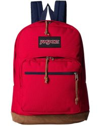 Jansport Right Pack Red Tape Backpack