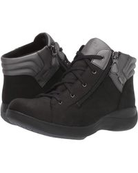 Aravon Rev Stridarc Waterproof Low Boot - Black