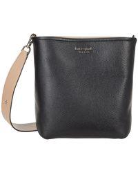 Kate Spade River Medium Bucket Bag - Black