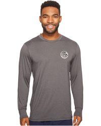 Rip Curl - Aggrolite Surf Shirt Long Sleeve - Lyst